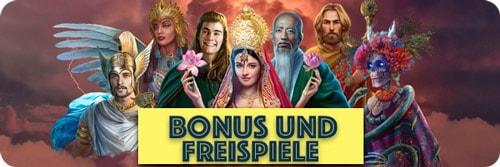 7 gods casino bonus und freispiele