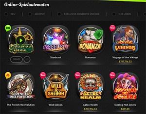 888 Online-Spielautomaten