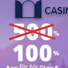 Aktuell kein 500% Casino Bonus