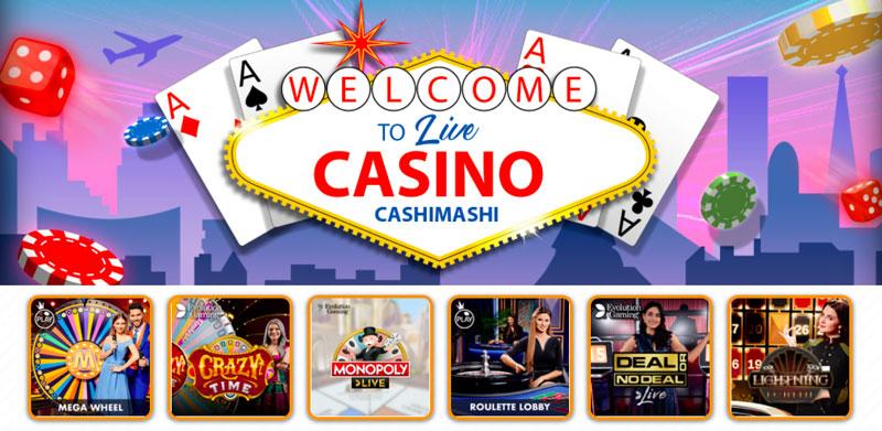 Live Casino von CashiMashi