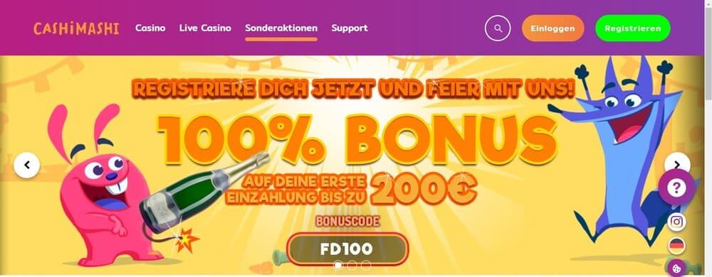 Cashimashi Bonus