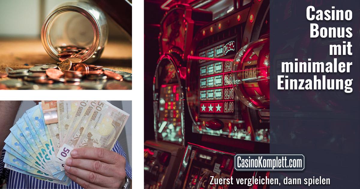 Casino Bonus Mit Minimaler Einzahlung