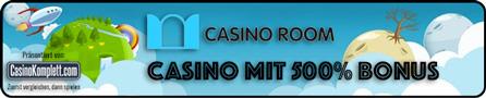 Casino Room mit 500% Bonus