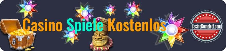 Casino Speile Kostenlos banner, Sterne,Schatz, casinokomplett.com logo
