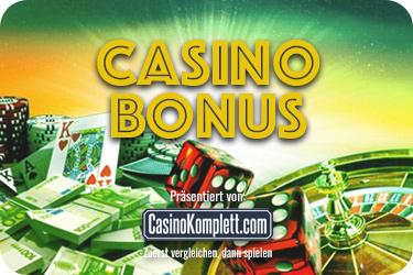 CasinoKomplett Bonus