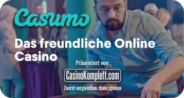 Das Casumo Casino in neuem Design