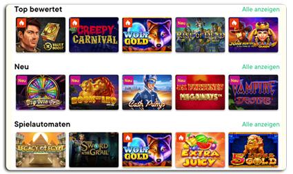 Fortune legends casino spielen