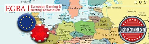 Glücksspiel und Wettverband der EU,europäische karte
