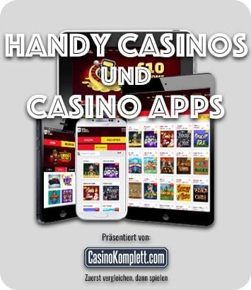 Handy Casinos und Casino Apps