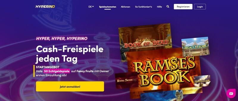 Hyperino Homepage