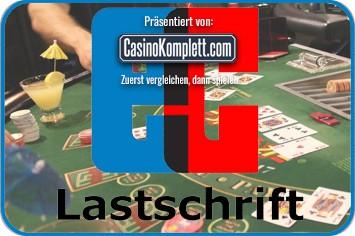Lastschrift im Online Casino