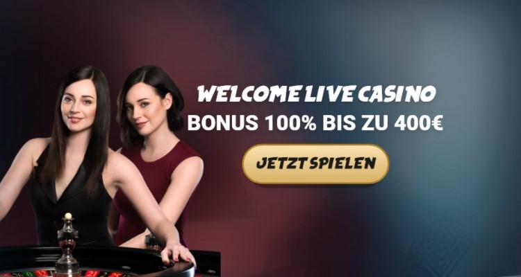 Live Casino Einzahlungsbonus von Svenbet