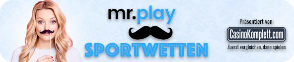 Mr Play sportwetten casinokomplett