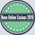 Neue online casino 2019 green logo