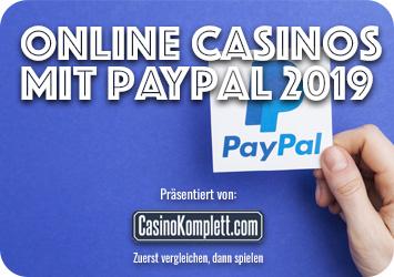 Online Casinos Mit Paypal Einzahlung