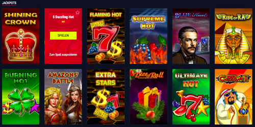 Jackpot-Slots bei Rabona