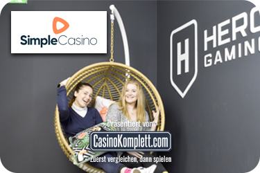 Simple casino heroe gaming