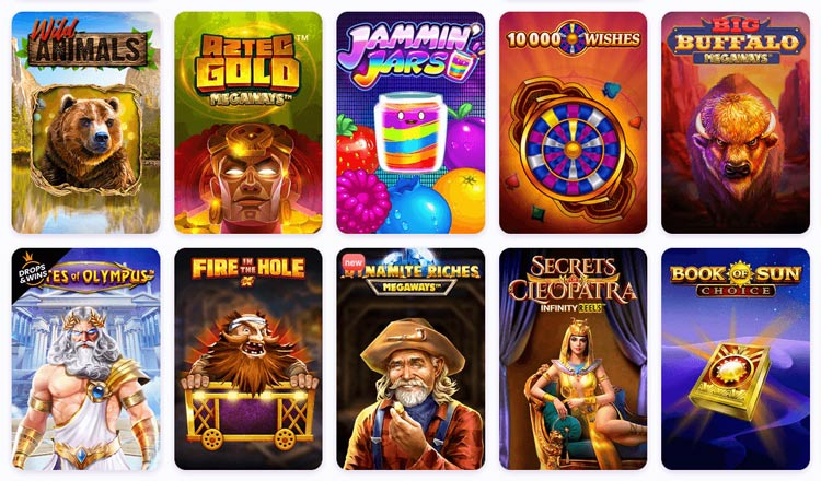 Spielauswahl Nomini Casino