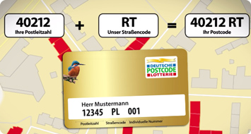 So funktioniert Postcode Lotto