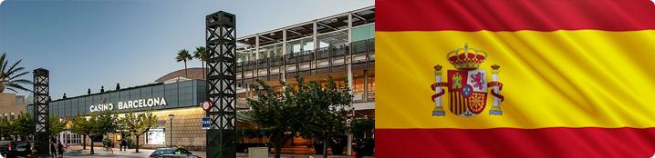 casino barcelona und spanien flagge