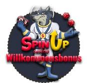 Spinup Wilkommensbonus, das Maskottchen.