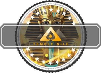 Temple Nile Neue Casino Logo mit tutankhamun