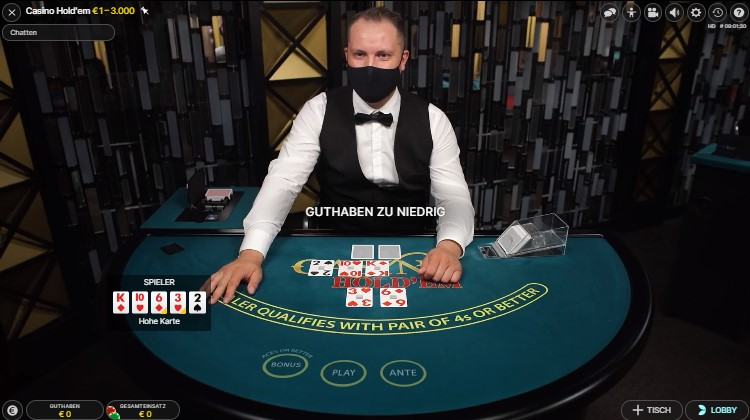 Casino Hol'dem im Boom Casino