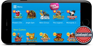 Vera und John mobiles casino mit casinokomplett.com logo