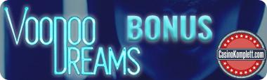 VoodooDreams Bonus, casinokomplett.com logo