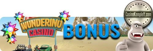 Wunderino Bonus banner