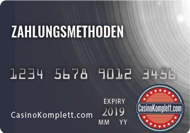 Zahlungsmethoden Casinokomplett logo Kreditkarten