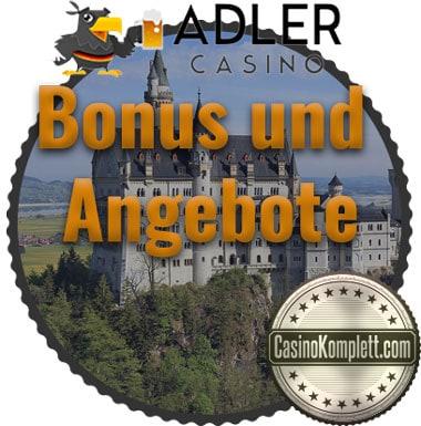 Adler Casino Bonus Angebote