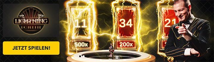 Adler Casino und Lightning Roulette
