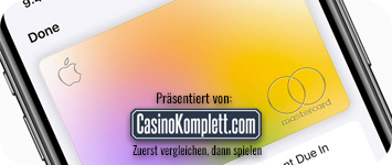 apple Kreditkarte für Online Casinos