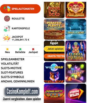 bacana play casino die spielelobby