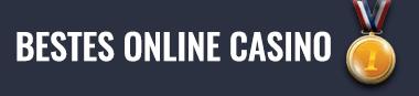 Bestes Online Casino Medaille