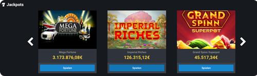 betano casino jackpots