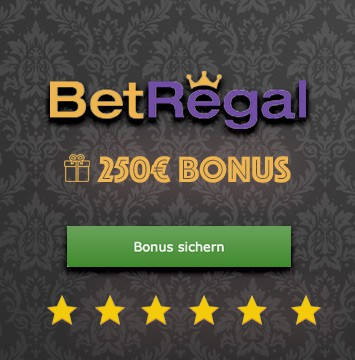 BetRegal Casino bonus