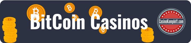 Bitcoin Casino banner