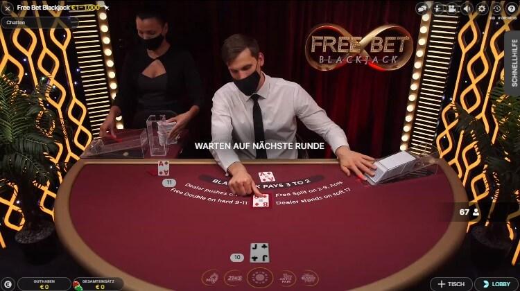 BlackJack im Boom Casino