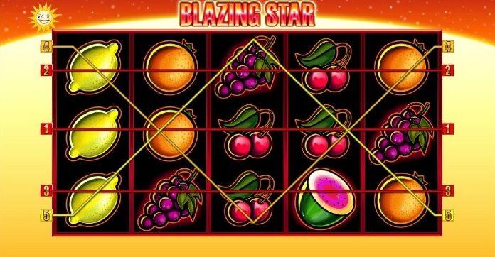 Blazing Star Slot im Platin Casino