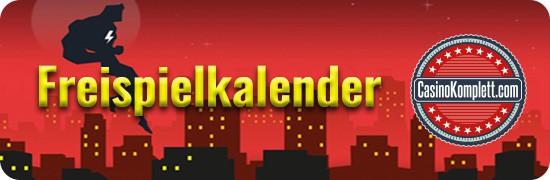 blitzino Freispielkalender mit CasinoKomplett logo