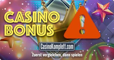 Casino Bonus Fehler