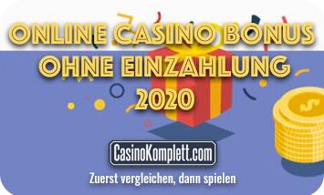 online casino bonus ohne einzahlung 2020