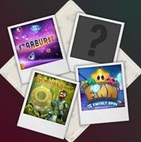Starburst, gonzos quest, Finn & the Twirly Spin