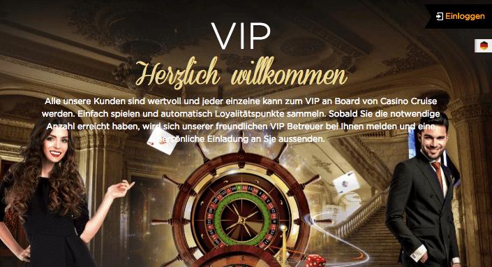 VIP-Programm Von Casino Cruise