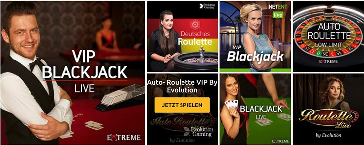 Live Casino von DrückGlück