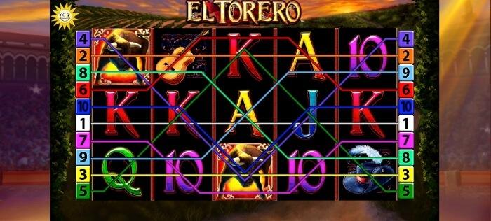 El Torero beim Platin Casino