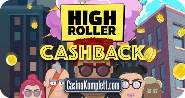 highroller cashback casinokomplett