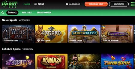 inandoutbet casino spielautomaten überblick